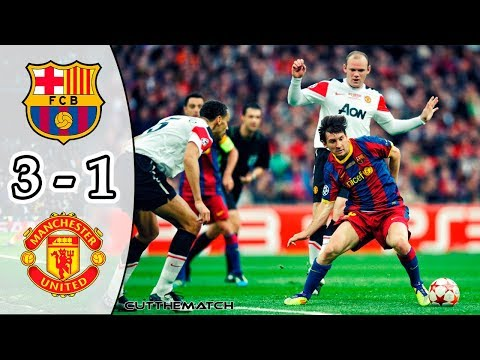 Barcelona vs Manchester United 3-1 | All Goals & Highlights | UCL Final 2010/11