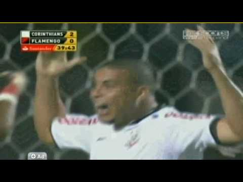 Golazo De Ronaldo – Corinthians x Flamengo [05/05/2010] Copa Libertadores 2010