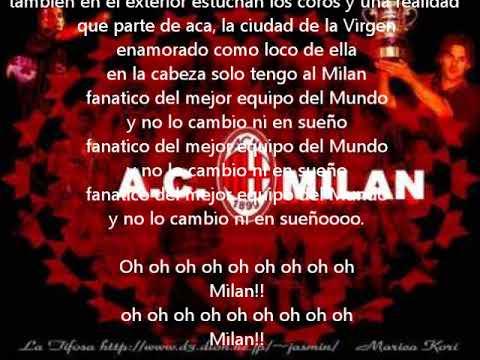Rossineri A.C.Milan   Emis Killa  Lyrics Español