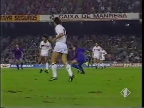 Season 1989/1990. FC Barcelona – AC Milan – 1:1