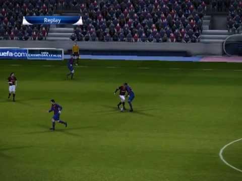 Pes 2014 AC Milan Barcelona 4-1 Bajnokok ligája Dőntő