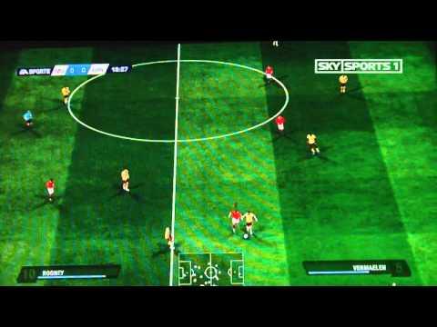 League Cup Semi Final 1st Leg – Manchester United v Arsenal 1st Half
