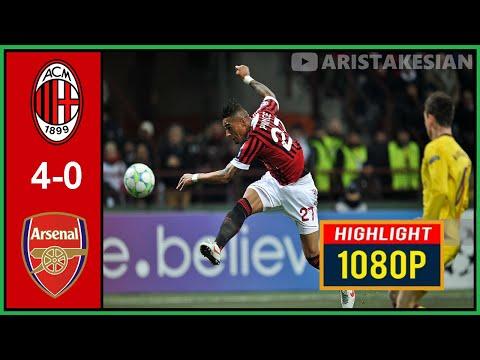 AC Milan v Arsenal: 4-0 #UCL 2011-12 – Round of 16 First leg – Sky Calcio – FULL HD