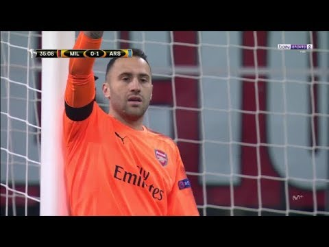 DAVID OSPINA VS AC MILAN (08/03/2018) HD