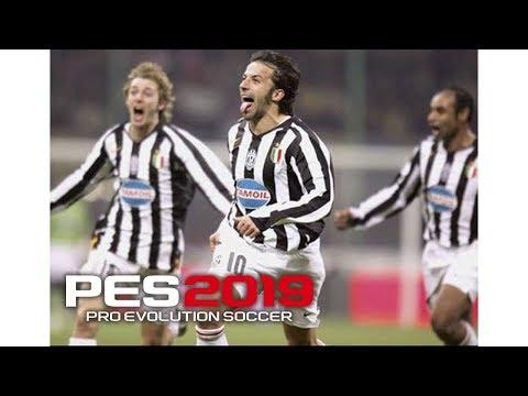 Juventus 2006 Squad PES 19 | Real Let's Game