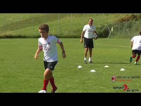 Conduzione e scambio della palla – Walter de Vecchi – AC Milan Junior Camp
