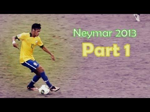 Neymar 2013 Skills | Party On My Level | (Part 1) | HD