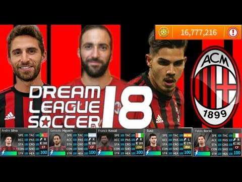 HACK AC MILAN – DREAM LEAGUE SOCCER 2018-19 HACK&CHAT (UNLIMITED+ALL PLAYER) V5.064