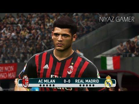AC Milan vs Real Madrid | Penalty Shootout | PES 2017 Gameplay