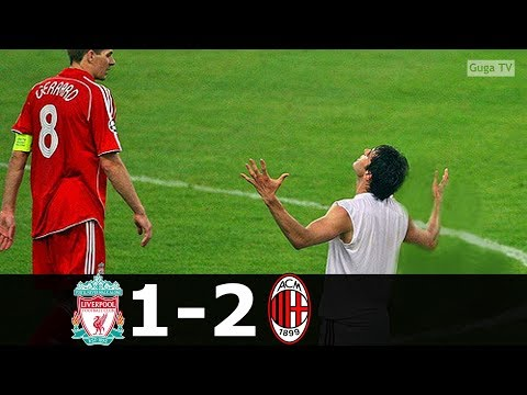 AC Milan vs Liverpool 2-1 – UCL Final 2007 (English Commentary) HD