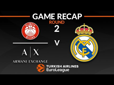 Highlights: AX Armani Exchange Olimpia Milan – Real Madrid