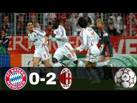 Bayern Munich vs AC Milan 0-2 – UCL 2006/2007 – Highlights & Goals – Full HD