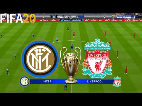 FIFA 20 | Inter Milan vs Liverpool – UEFA Champions League – Full Match & Gameplay