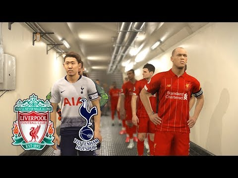 PES 2019 | Tottenham vs Liverpool | Full Match | Final UEFA Champions League (UCL) | Gameplay PC
