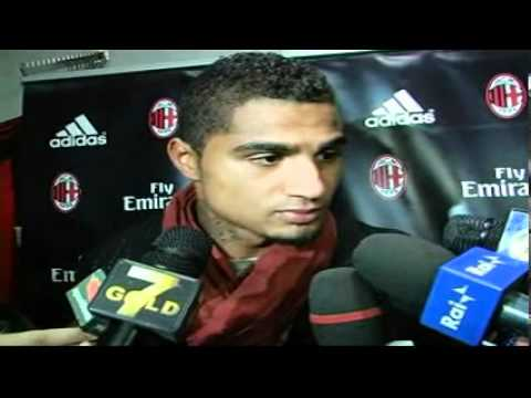 Ghana midfielder Kevin-Prince Boateng talks about Black Stars and AC Milan