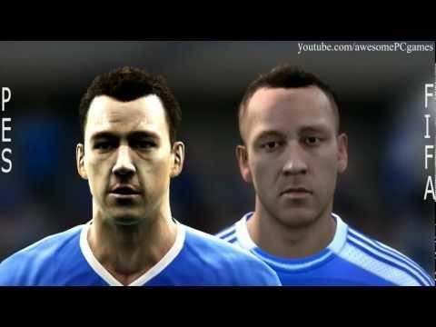FIFA 12 vs PES 12 Head to Head – Faces #4 HD 1080p