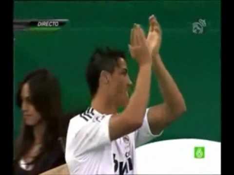 Cristiano Ronaldo Nuevo Galactico del Real Madrid HD