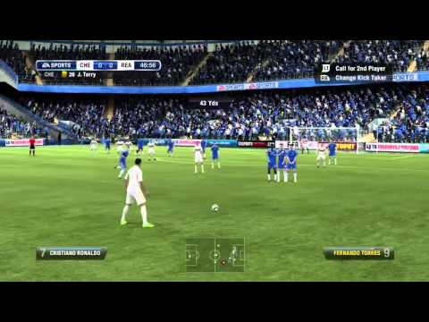 FIFA 12 H2H CHELSEA VS REAL MADRID