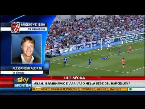 Zlatan Ibrahimovic al Milan – Sky Sport 24 – 28-08-2010 – Pt. 1