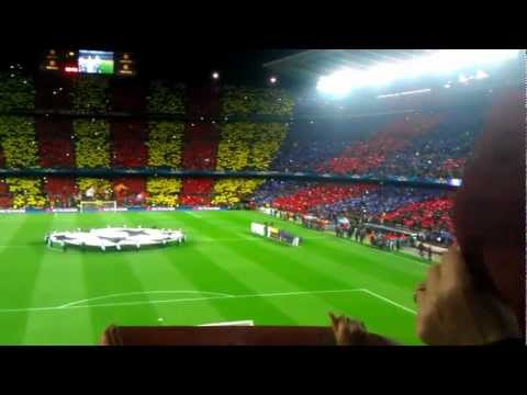 Barcelona vs Milan 4-0, 12.03.2013. Anthem+ mosaic