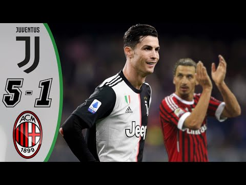 Juventus vs AC Milan 5-1 – Highlights & Goals Resumen & Goles (Last Matches) 2020 HD