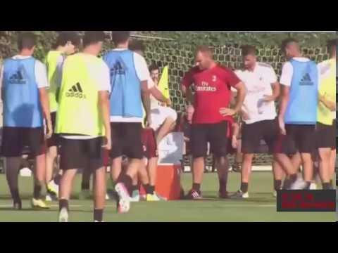 ac milan New training for Season 2017/2018