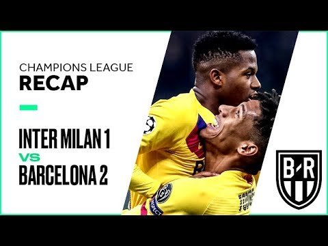 Inter Milan 1-2 Barcelona: Champions League Recap with Goals, Highlights and Best Moments
