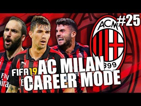 FIFA 19 | AC MILAN CAREER MODE | #25 | SQUAD REPORT!