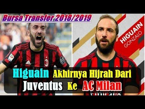 MENGEJUTKAN!!! Gonzalo Higuain Hijrah dari Juventus ke AC Milan