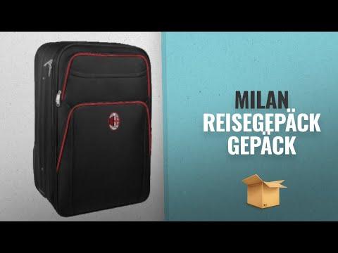 Die Zehn Tolle Milan 2018 Bestsellers: Reisetrolley Cabin Gepäck Hand Squad AC Milan Fußball PS