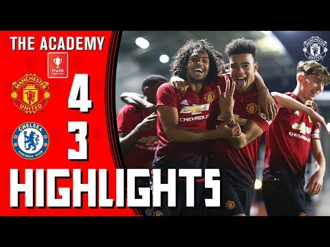 FA Youth Cup | Manchester United 4-3 Chelsea | Highlights | The Academy