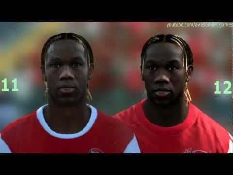 FIFA 12 vs FIFA 11 Head to Head – Faces #5 HD 1080p