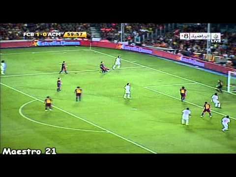Ronaldinho vs. Barcelona – 25-08-2010