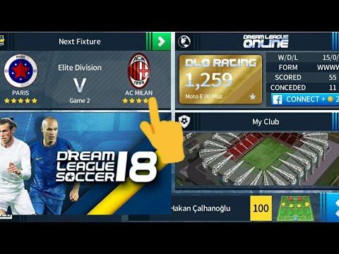 Ac Milan team 2018/19 hack  All100 player  dream league soccer 2018