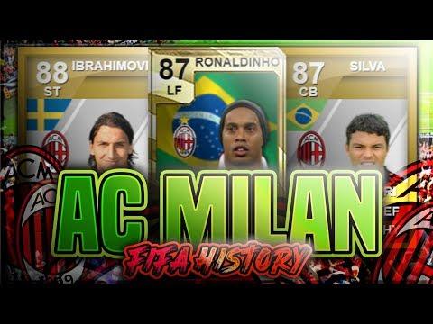AC MILAN FIFA ULTIMATE TEAM HISTORY!! FT. RONALDINHO, IBRAHIMOVIC, THIAGO SILVA ETC… (FIFA 10-20)