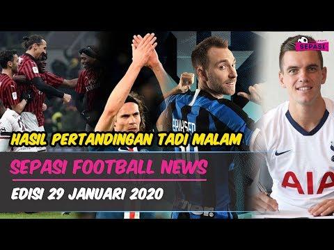 AC Milan Mulai Bangkit ? Cavani Pamitan ? Inter Resmikan Eriksen, Tottenham Permanenkan Lo Celso