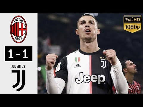 AC Milan vs Juventus 1-1 – All Goals & Extended Highlights 2020