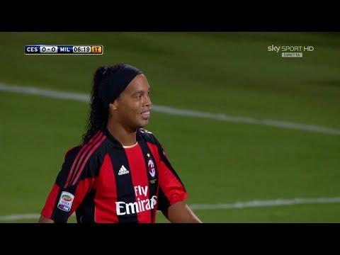 Ronaldinho vs Cesena 2010/11 (A) HD 720p – Serie A 10-11 – By PedroPaulo10i