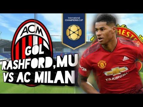 Gol Rashford Mu vs Ac milan
