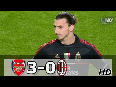 Arsenal vs AC Milan 3-0 | All Goals and Highlights – UCL 2012