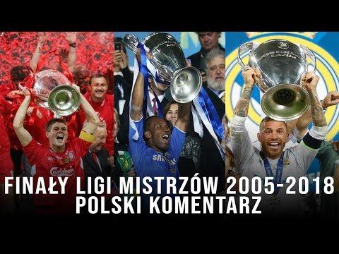 Finały Ligi Mistrzów 2005-2018 (Polski Komentarz) ᴴᴰ