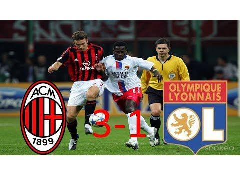 AC Milan 3-1 OL | Quart de finale retour | Ligue des champions 2005/2006 | TF1/FR