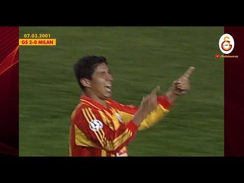 Galatasaray 2-0 AC Milan | Geniş Özet (07.03.2001)
