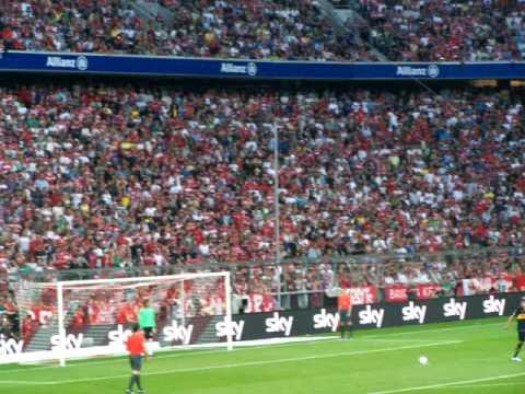 Audi Cup – AC Milan vs. Boca Juniors – penalty  – elfmeter
