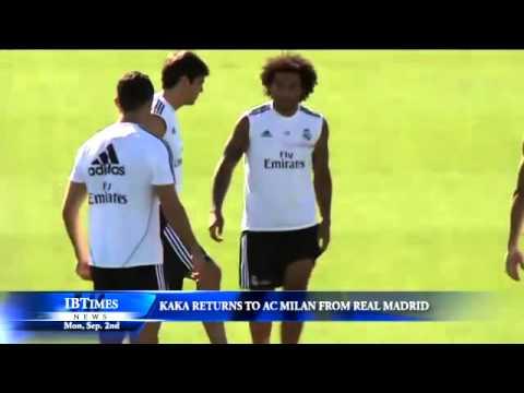 Kaka Returns to AC Milan from Real Madrid
