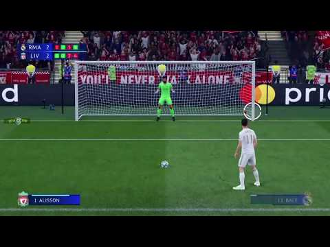 LIVERPOOL VS REAL MADRID PENALTY 2019 FIFA 2020