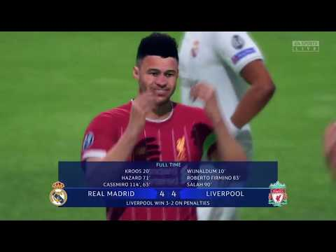 LIVERPOOL VS REAL MADRID UEFA Champions League FINAL FIFA2020