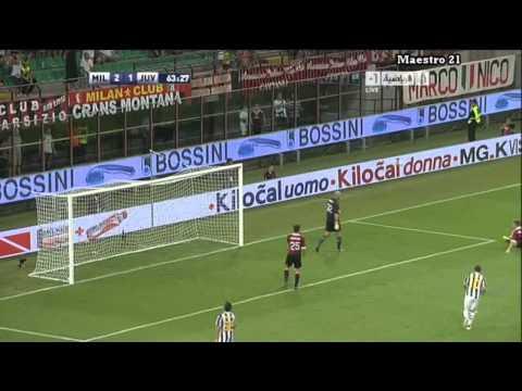 Highlights AC Milan 2-1 Juventus – 21/08/2011