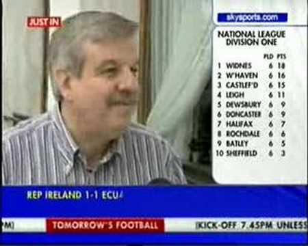 William Gaillard Of UEFA Praises Glasgow Celtic Fans (at 3:15)