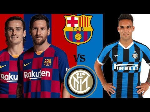 FC BarBarcelona Inter Milan Possible Starting Lineup In UCL 2019-20 Season